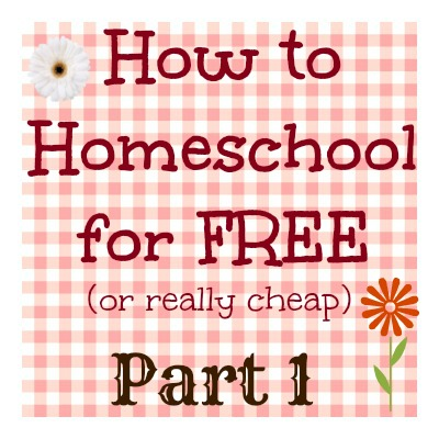 RAQ: How can you homeschool for free (or really cheap)? Part 1