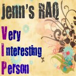 New Award Debut: Jenn's RAQ VIP! :)