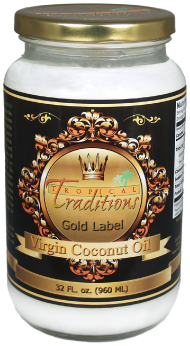 Review: Tropical Traditions Gold Label Virgin Coconut Oil (and a GIVEAWAY!) CLOSED