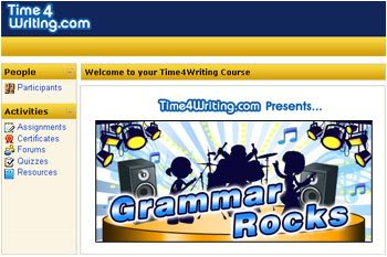 Time4Writing – Elementary School Grammar Rocks Review