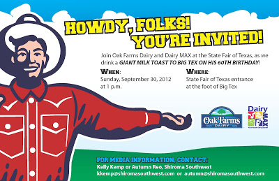 Toast to Big Tex's 60th Birthday at the #StateFair of Texas