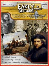 "Homeschool Legacy ""Early Settlers in America"" Review"