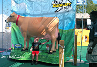 Dairy Discovery Zone at the #TXStateFair #DDZ