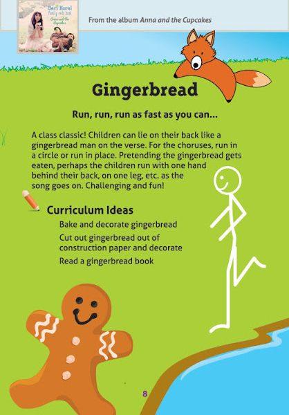 Free Holiday Season Download by Bari Koral: Gingerbread Man