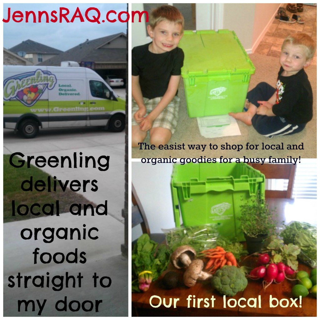 Greenling Organic and Local Food Delivery