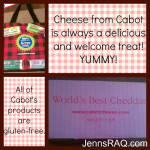 Cabot Cheese = Delicious! @CabotCoop