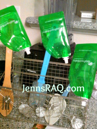 GoFreshBaby Reusable Baby Food Pouches for Squeezable Fun