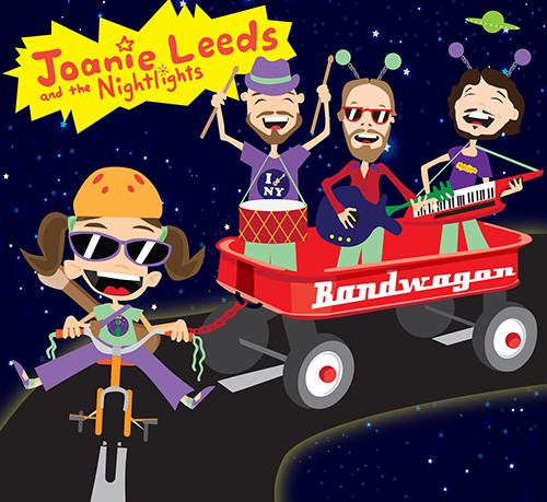"Joanie Leeds and the Nightlights New CD ""Bandwagon"""