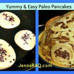 Paleo Pancakes – Banana Chocolate Chip