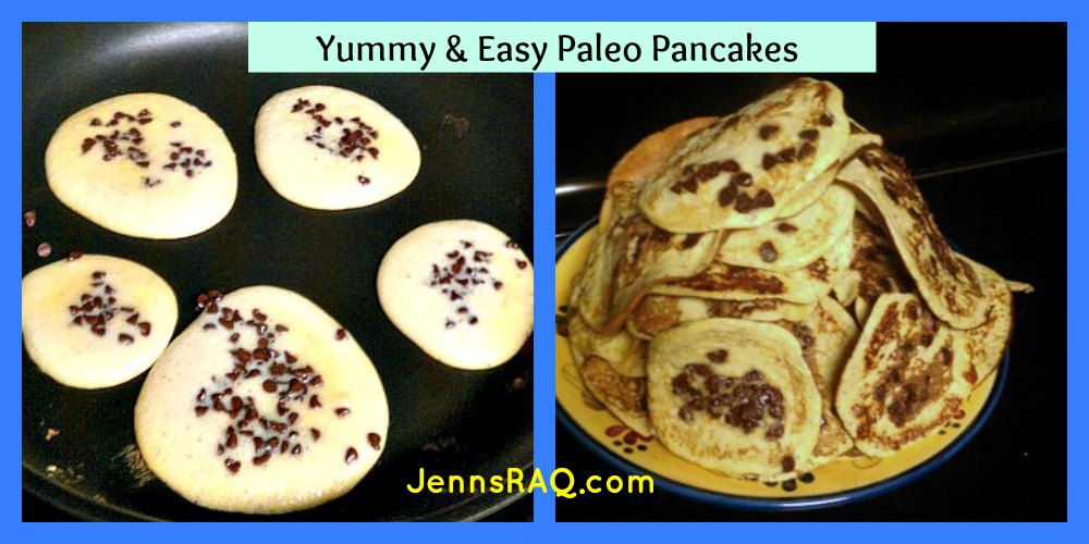 Paleo Pancakes – Banana Chocolate Chip