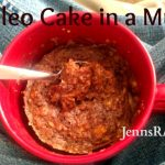 Easy Paleo Treat – Cake in a Mug