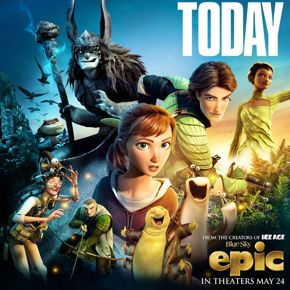 Epic Is An Awesome Family Movie At Epicthemovie Real And Quirky