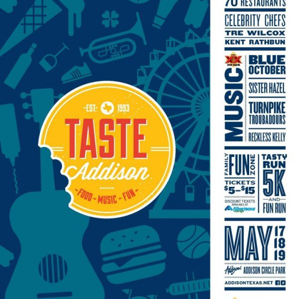 Taste Addison – May 17-19, 2013 Flash #giveaway