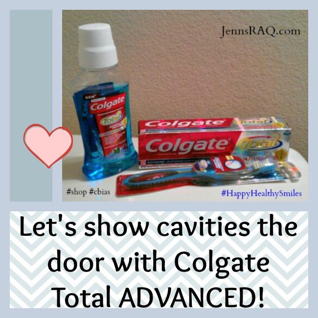 Colgate Total Advanced products #HappyHealthySmiles