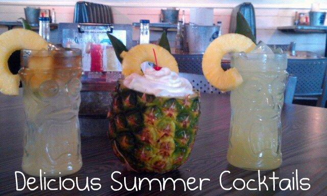 Joe's Crab Shack Summer Cocktails