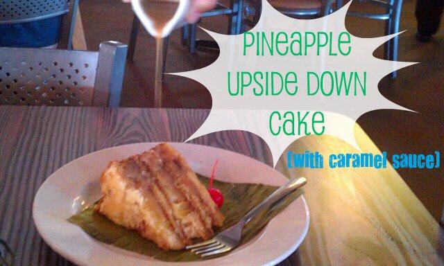 Joe's Crab Shack Pineapple Upside Down Cake