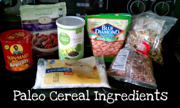 paleo cereal ingredients