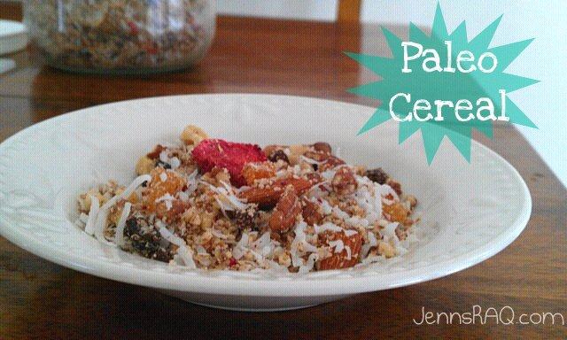 Paleo Cereal