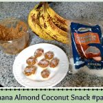 Banana Almond Coconut Snack #paleo #cleaneating