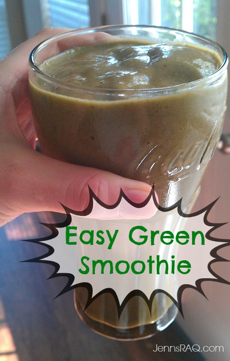 Easy Green Smoothie #cleaneating #paleo #realfood