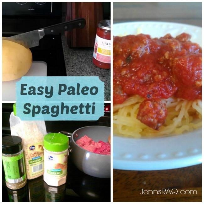 Easy Paleo Spaghetti