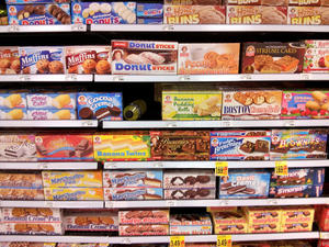 Junk food, grocery store, Houston, TX, USA