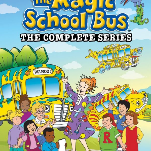 The Magic Schoolbus DVDs – Less than $29 TODAY!