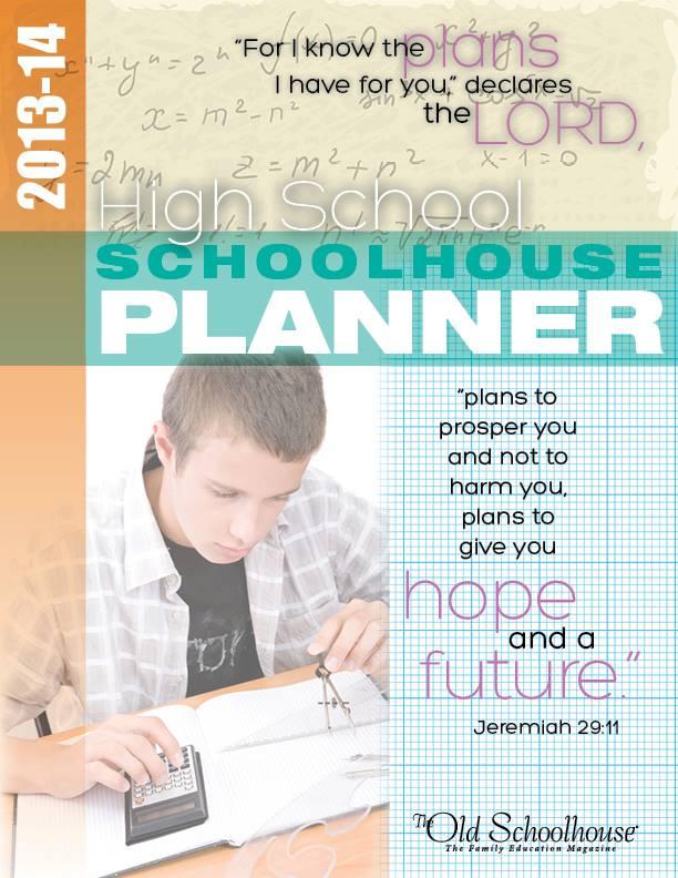 highschool schoolhouse planner