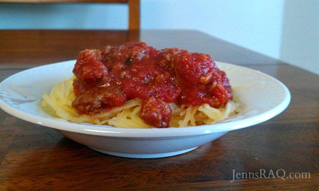 Easy Paleo Spaghetti #paleo #cleaneating