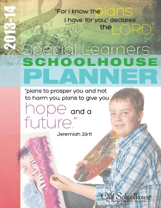 special learners schoolhouse planner