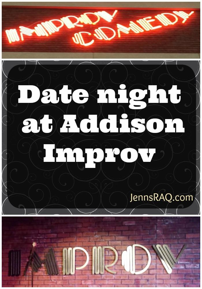 Date night at Addison Improv - JennsRAQ.com