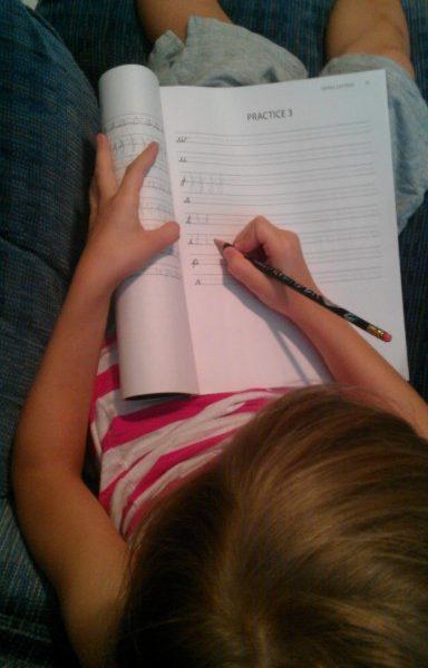 Logic of English Review – Rhythm of Handwriting (Cursive)