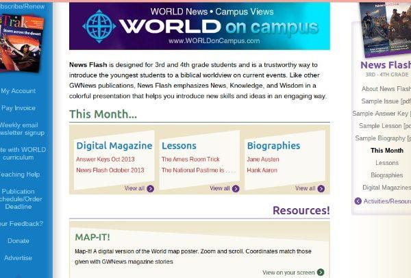 God's World News – News Flash Review #hsreviews