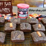 Candy Bar Brownies – Last Minute Dessert #HersheysHalloween