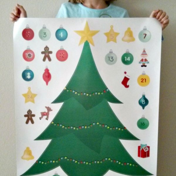 Christmas Advent Calendar from Signs.com #Giveaway