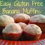 Easy Gluten Free Banana Muffins Recipe