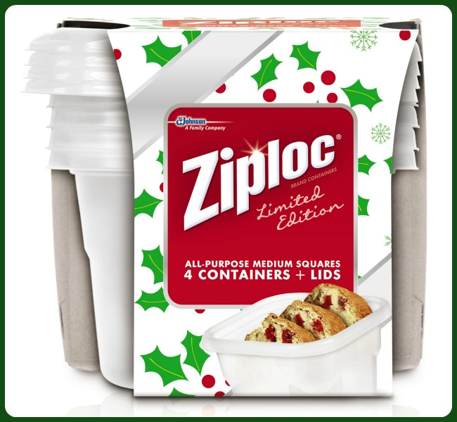 ziploc holiday containers