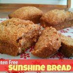 Sunshine Bread Recipe (Gluten Free, Dairy Free)