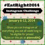 Instagram Food Photo Challenge #EatRight2014
