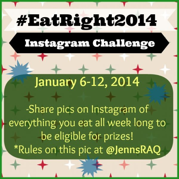 Instagram Food Photo Challenge #EatRight2014