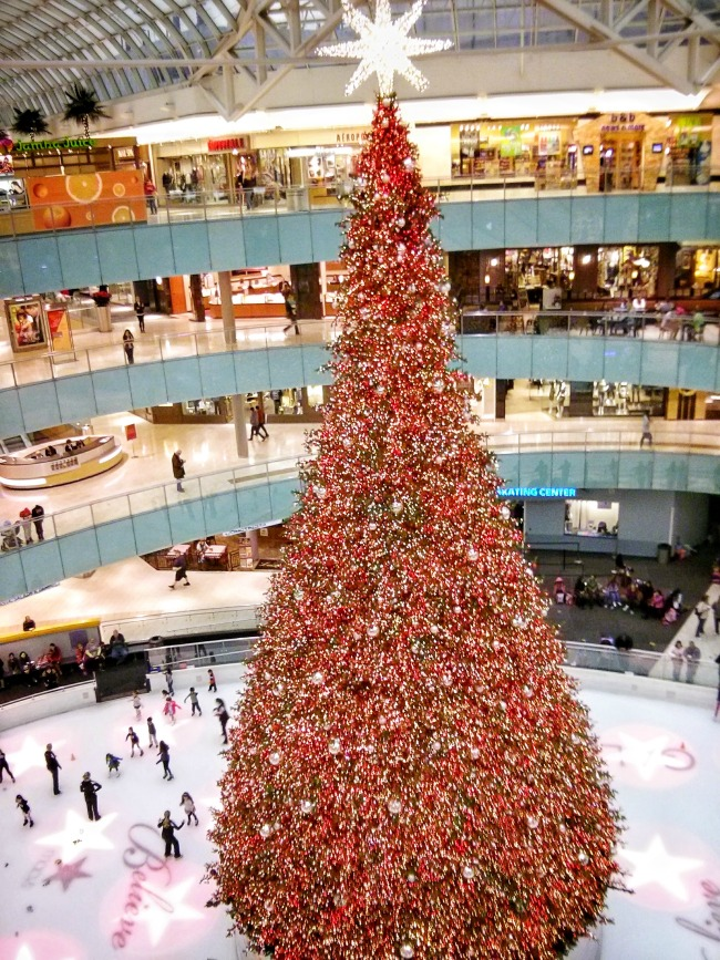 christmas at galleria dallas real and quirky