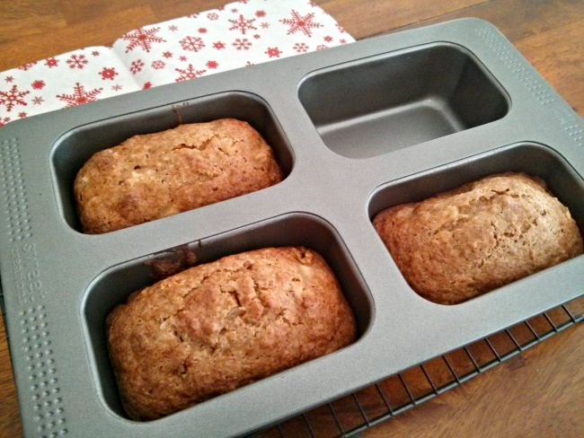 Sunshine Bread in Sweet Creations Mini Loaf Pan