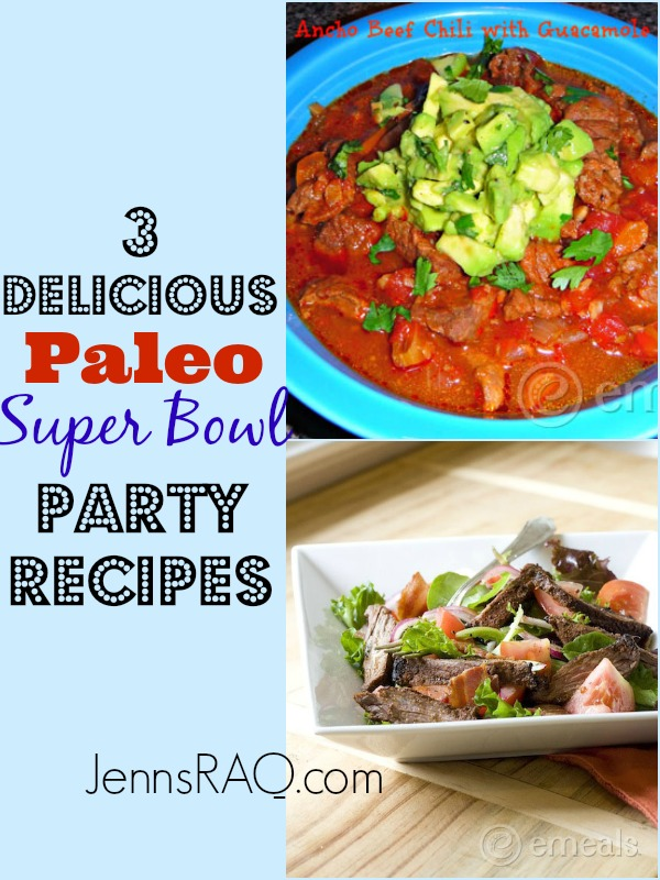 3 Delicious Paleo Super Bowl Party Recipes