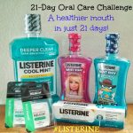 I'm Taking the 21-Day Oral Care Challenge #LISTERINE