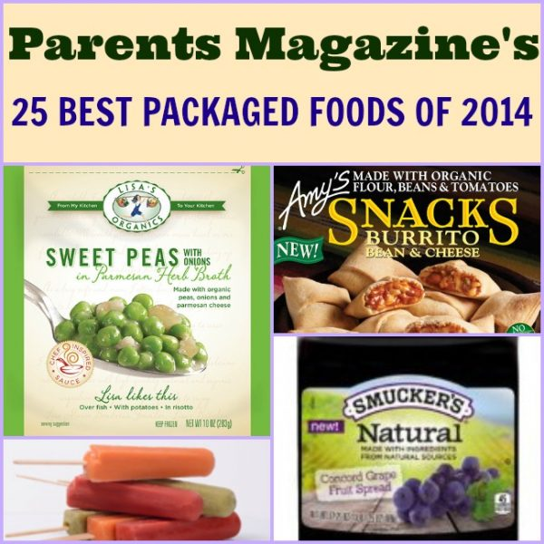 Parents Magazine Names Best Packaged Foods