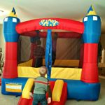 Win one of FIVE Blast Zone Magic Castle Inflatable Bouncers! #giveaway