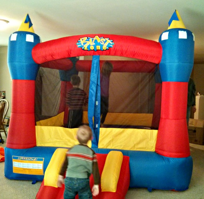 Blast Zone Magic Castle Inflatable Bouncer Bounce House