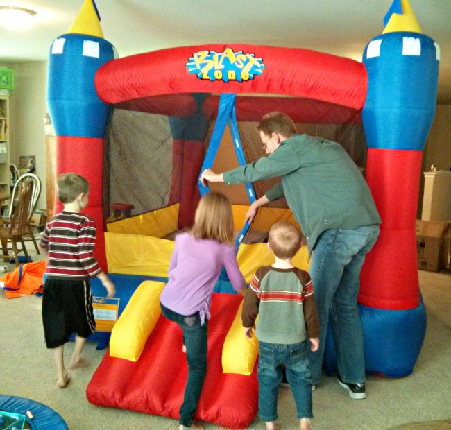 Blast zone Bounce House Inflatable Bouncers