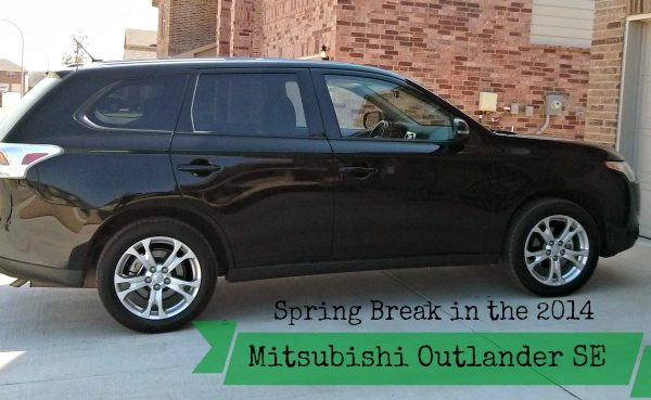 Our Spring Break in the 2014 Mitsubishi Outlander SE