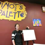 Pinot's Palette – Lakewood (Dallas) Wordless Wednesday